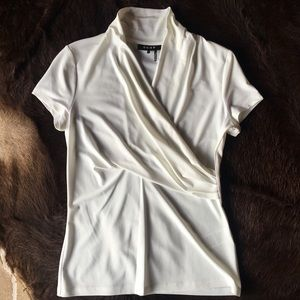 DKNY White Blouse Small